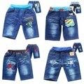 Nuevo verano Despicable Me esbirros y Spiderman niños pantalones cortos de algodón para niños ropa para niños pantalones cortos del bebé estilo de dibujos animados