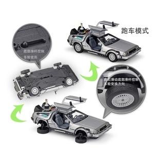 Image 3 - 1:24 Welly DMC  12 delorean Back to The Future Diecast Model Car