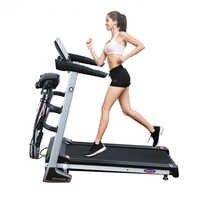 Tapis roulant multifonctionnel de podomètre d'équipement de forme physique de gymnase d'intérieur grand poids pliant la machine de forme physique pour l'usage à la maison
