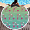 Round Patterned Beach Towel - Cover-Up - Beach Blanket 16