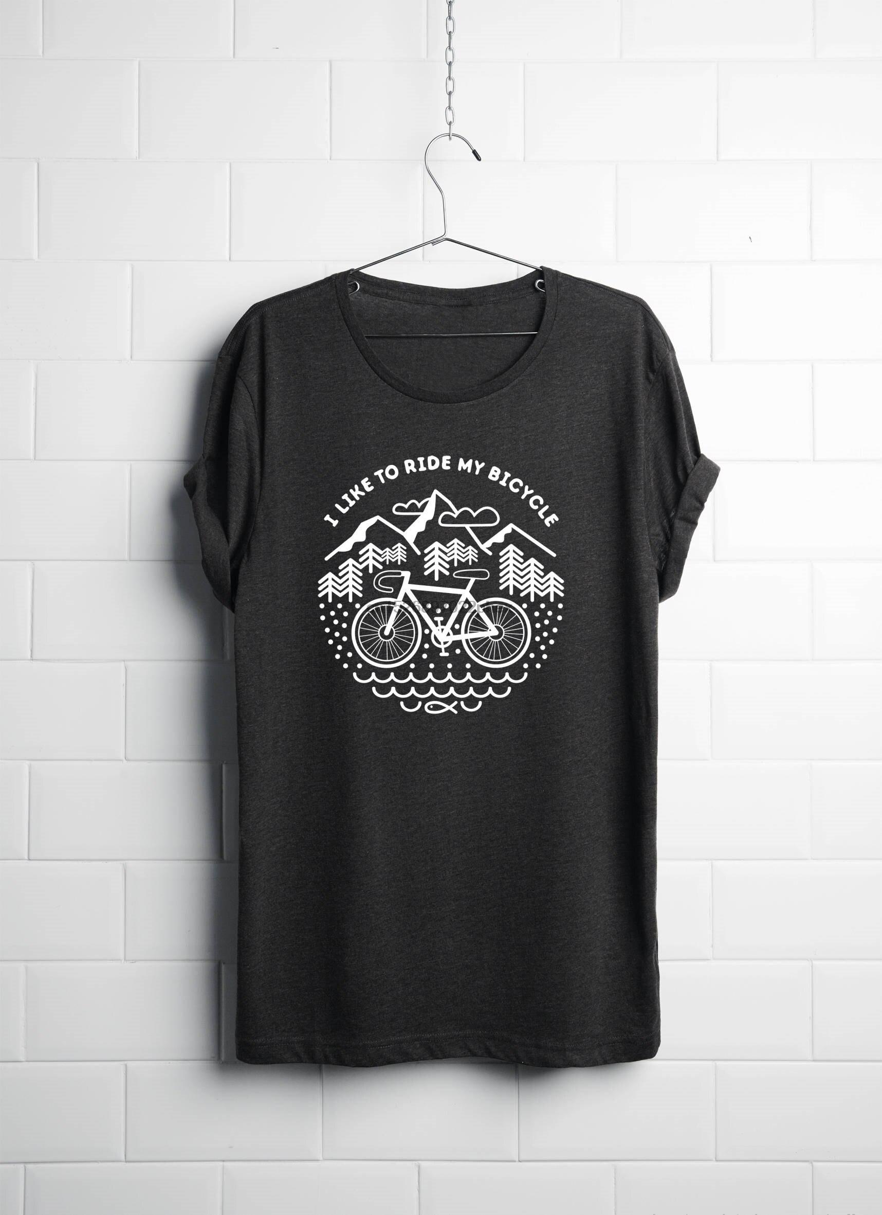 Womans Bicycle Tshirt Bike Tshirt Cycling Gift Cycling Shirt Bike Shirt Bike Gift Cycling T Shirt For Dedicated Cyclist