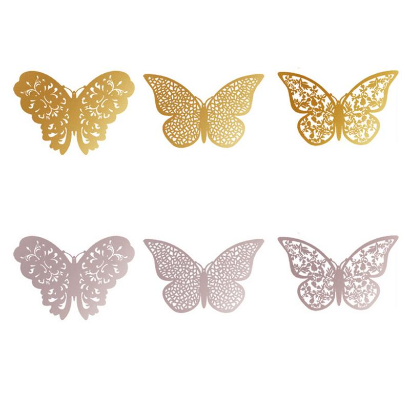 AUGKUN-1PC-Metal-Texture-3D-Hollow-Butterfly-Wall-Stickers-Gold-Silver-Home-Decoration-Festive-Decoration (3)