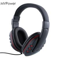 1pc 3 5mm 1 2m Headphone Wired Gaming Headset With Mic Microphone Voice Control For Sony