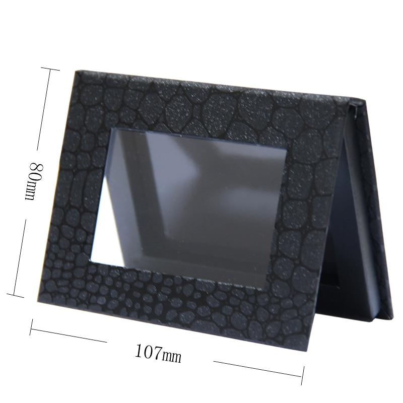 4 dimensiune diferită Magnetic Fard de Ochi Paleta, Modelul Negru Crocodil Blank, Professional Naked machiaj Stroage.