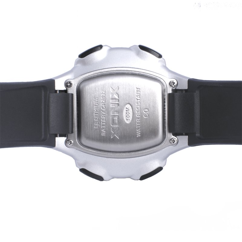 US $19 83 20% OFF|New Brands Big dial digital watch 100M Waterproof Hourly  Chime Alarm watch World Multiple Time Zone Outdoor Sport Watch Men CQ-in