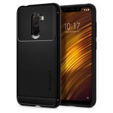 Чехол SPIGEN Xiaomi POCOPHONE F1 прочный защитный матовый черный S23CS25224