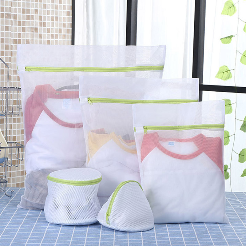 6 Pcs Mesh Laundry Bags Thickening Lingerie Storage Bag Washing Machine Bra Pack Wash Bag Set Underwear Organizer Washing Bag