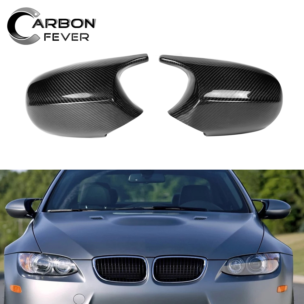 BMW E90 3 SERIES M-SPORT PRE-LCI REAL GENUINE CARBON FIBRE WING MIRROR COVERS