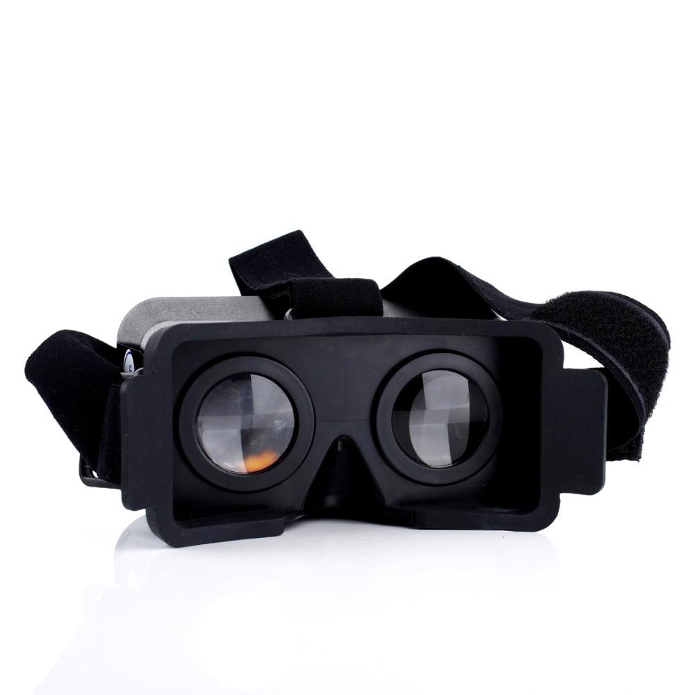 2015 Virtual Reality 3D Viewing <font><b>Glasses</b></font> <font><b>For</b></font> <font><b>iPhone</b></font> <font><b>5</b></font> 5s 5c Cardboard Head Mount Plastic Virtual Reality 3D Video