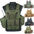 Chaleco táctico militar Policial Deportista chaleco navy seal SWAT Chaleco plate carrier airsoft asalto chaleco coyote camo 3d