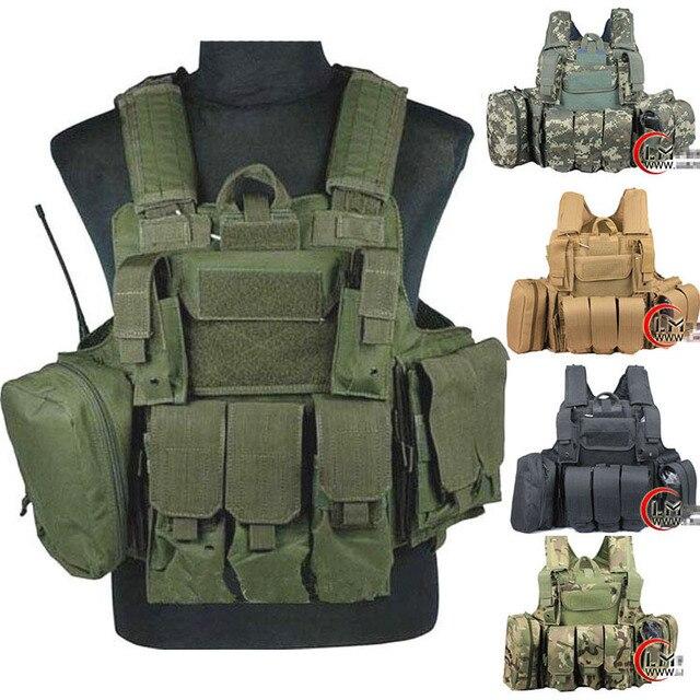 a20b58678ed Tactical vest military Law Enforcement SWAT Vest plate carrier airsoft vest  Sportsman navy seal assault vest