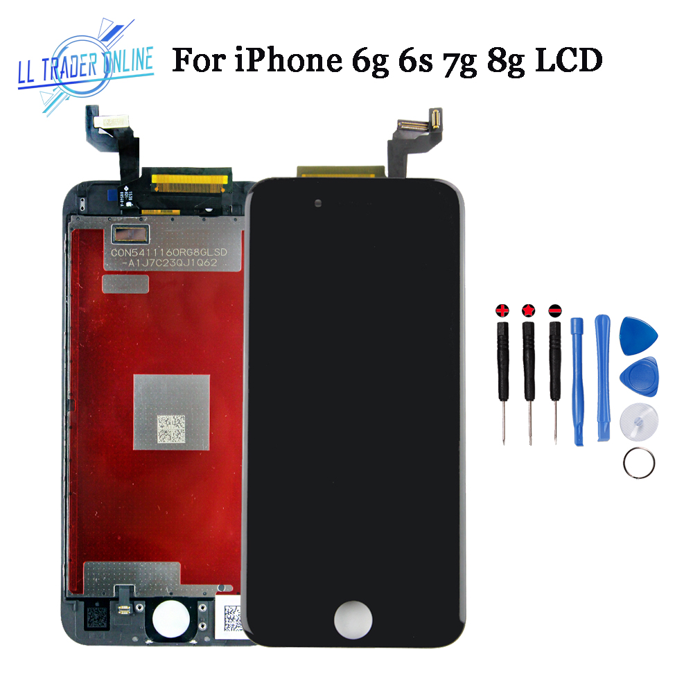LL TRADER AAA Assembly LCD For iPhone 8 7 6s 6 Display Touch Screen Replacement Digitizer For iphone 6 6s 7 8 LCD Screen No Dead image