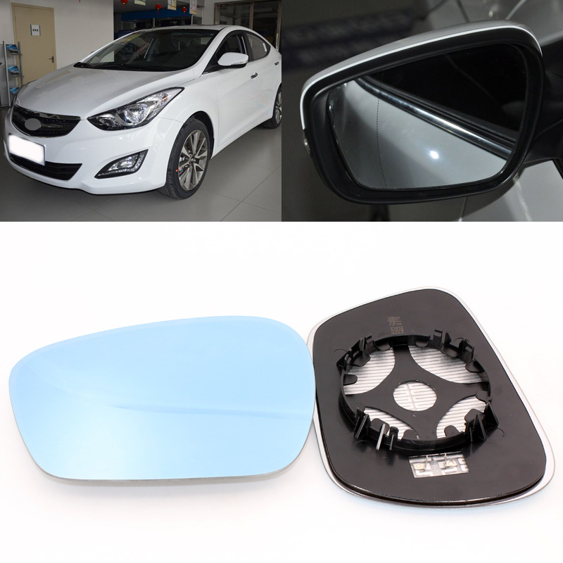 WING MIRROR GLASS HEATED /& BASE,LEFT SIDE HYUNDAI VELOSTER  2011-/>2019 DOOR