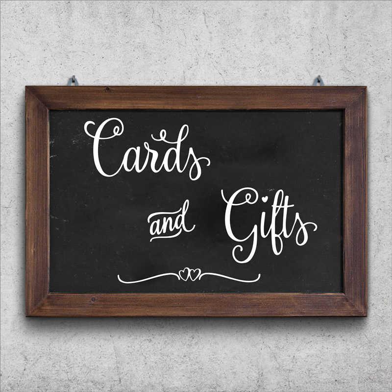 Открытки и подарки очаровательный Свадебный знак для стола наклейки виниловые художественные наклейки для свадеб свадебный душ Наклейка Декор