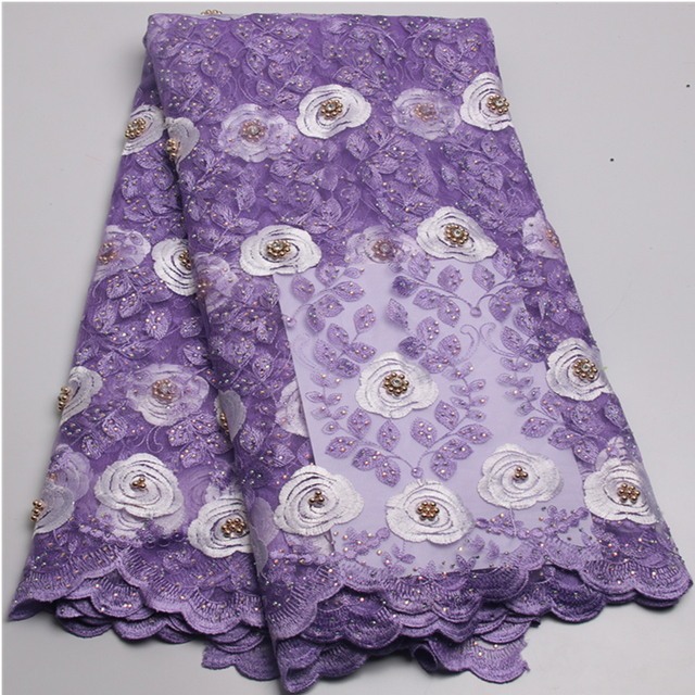 Embroidery Manufacturer Hot Sale Purple Embroidery Designs In
