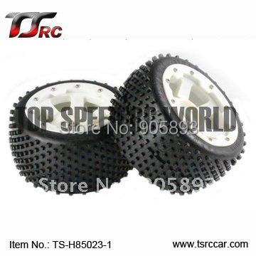 5B Rear Off-road Wheel Set With Nylon Super Star Wheel (TS-H85023-1) x 2pcs for 1/5 Baja 5B, SS , wholesale and retail 5b front knobby wheel set with nylon super star wheel ts h85073 x 2pcs for 1 5 baja 5b wholesale and retail