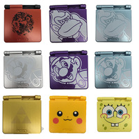 Red Chinese Dragon Limited Edition Full Housing Shell Case Replacement For Nintendo Gameboy Advance GBA SP