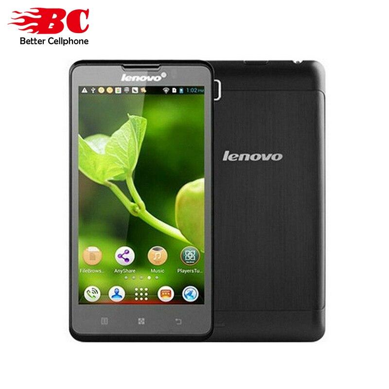 100% Nuovo Originale Lenovo P780 5 pollici MTK6589 Quad Core 1.2 GHz 8.0MP Bluetooth GPS WIFI 4000 mAh multi-lingua Android Smart Phone