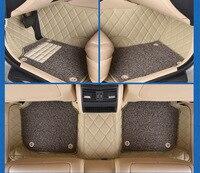 Myfmat пользовательские ног кожаные автомобильные коврики для Audi A4 A4L A6L A6 A1 A7 A8 A3 SQ5 RS 5 Rs 7 бесплатная доставка Модные легкой чистки