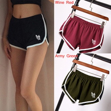 Funny Women Casual Shorts Female Elastic Skinny Slim Sexy Hot Shorts Cotton Workout Shorts