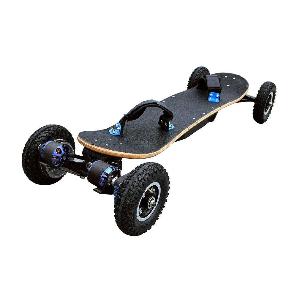 CE certificat excitting électrique planche à roulettes, batterie longboard EcoRider 48 v Hors Route Électrique Planche À Roulettes pour les adultes