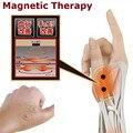 Terapia magnética de Silicone Pulso Apoio Mão Luvas Cinta Entorse Antebraço Splint Esporte Compressão cura tenossinovite rato mão