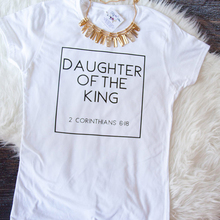2019 Women Daughter of The King Letter Print Cute Christian Tshirt New Womens Jesus Shirt Harajuku Tops T Shirts