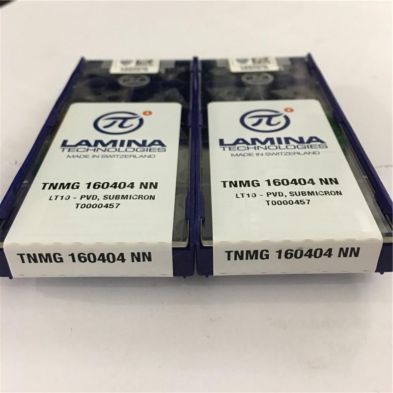 LAMINA TNMG 160404 NN LT10 Carbide Inserts NEW 10pcs//Box free shipping