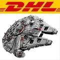 LELE 5382 pcs Star Wars Millennium Falcon Modelo Blocos de Construção Tijolos de Brinquedo starwars Colecionador Final 10179 lepin 05033
