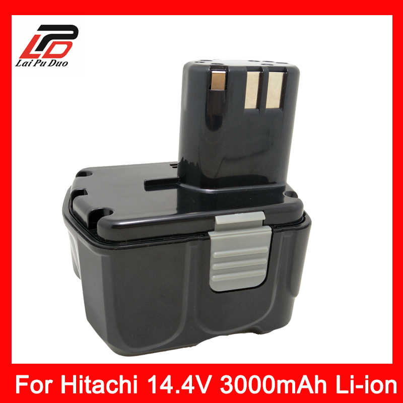 Replace power tool battery Li-ion 14.4v 3000mah For HITACHI power tool battery hit 25 2v 3000mah li ion dh25dal dh25dl bsl2530 328033 328034 page 1