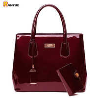 170c6c9205c0 Роскошная лакированная кожа сумки Для женщин сумочки для плеч сумка женская  сумки через плечо известная марка