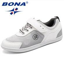 Bona новая популярная стильная детская повседневная обувь на