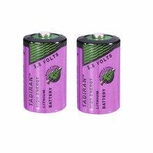 2 шт. тадиран TL-5902 1/2AA ER14250 SL350 3,6 V 1/2 AA литиевая батарея plc