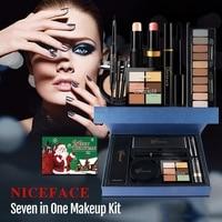 Makeup Set For Women Girls Professional Makeup Lipsticks Eyeshadow Mascara Face Powder Highlight Makeup Kits Christmas