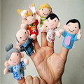Nuevo 6 Unids Dedo Siquiera Narración Buenos Juguetes Marioneta de Mano Para El Regalo Libre Del Envío