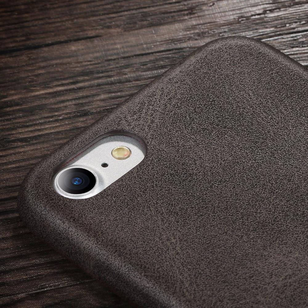 Ρετρό θήκη X-Level για iPhone 7 8 Πολυτελές - Ανταλλακτικά και αξεσουάρ κινητών τηλεφώνων - Φωτογραφία 2