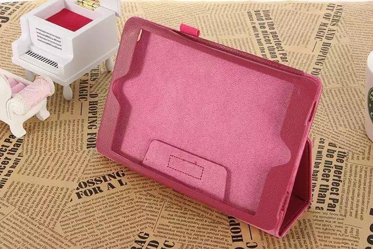 Para Ipad Mini 4 Funda Total Protección Red Flip Stand Funda de piel - Accesorios para tablets - foto 4