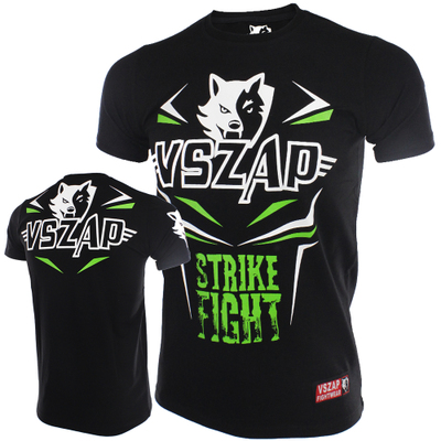 VSZAP Jerseys Fight MMA Shorts T-Shirt Gym Tee Boxing Fitness Sport Muay Thai Men