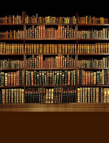 School Graduation Boekenkast Bibliotheek achtergrond Vinyl doek Hoge ...