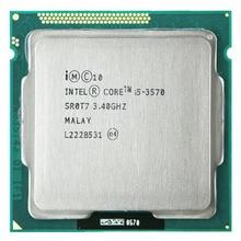 Intel Core i5 3570 prozessor i5-3570 3,4 GHz/6 MB Buchse 1155 CPU Prozessor HD 2500 Unterstützt speicher: DDR3-1333, DDR3-1600