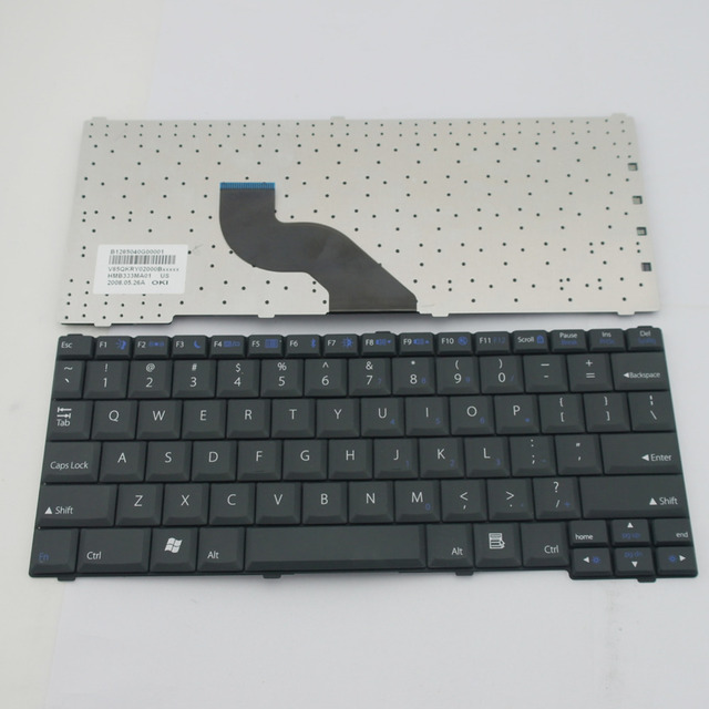 US $32 56  NEW US Black Keyboard For IBM Lenovo IdeaPad U110 K12 Series  Laptop Accessories Replacement Teclado Wholesale (K1710 US)-in Replacement