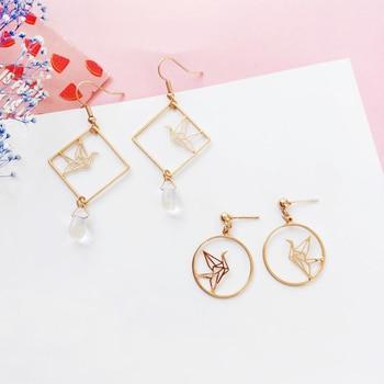 Original design fashion girl temperament feeling drop earrings earrings hollow out art wholesale fashion popular earrings 2