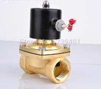 1 1/2 2 AC220V DC12V 24V Electric Solenoid Valve Pneumatic Valve for Water Oil Air Gas
