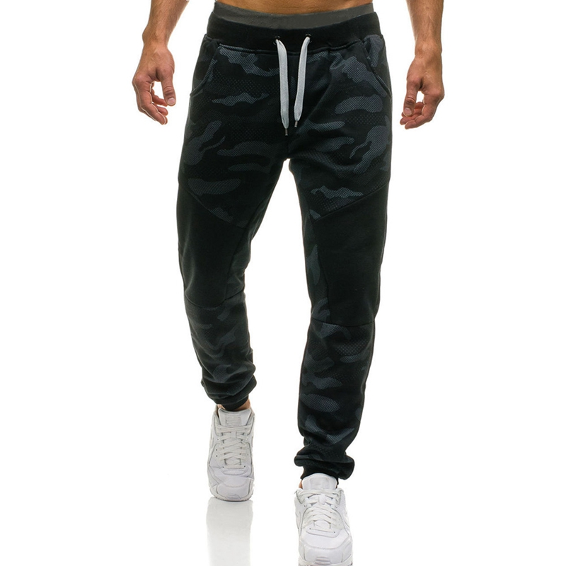 Men Jogging Pants Camouflage Military Sport Running Pants Men Gym Sweatpants Plus Size S ...