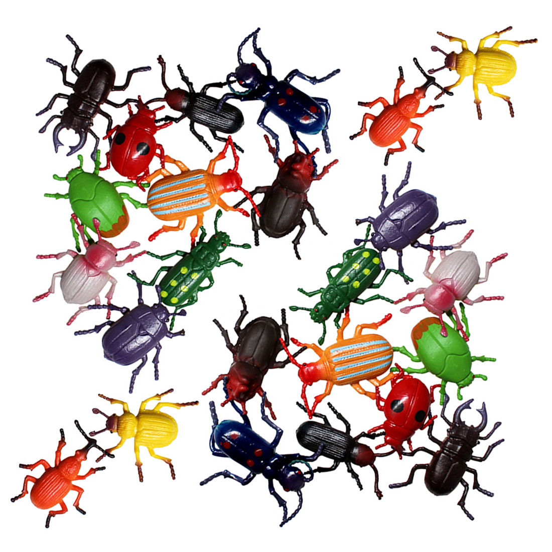 12Pcs / 24Pcs Beetle Toy Simulation Model Children Early Learning Cognitive Toy Early Learning Educational Toys Set For Kids