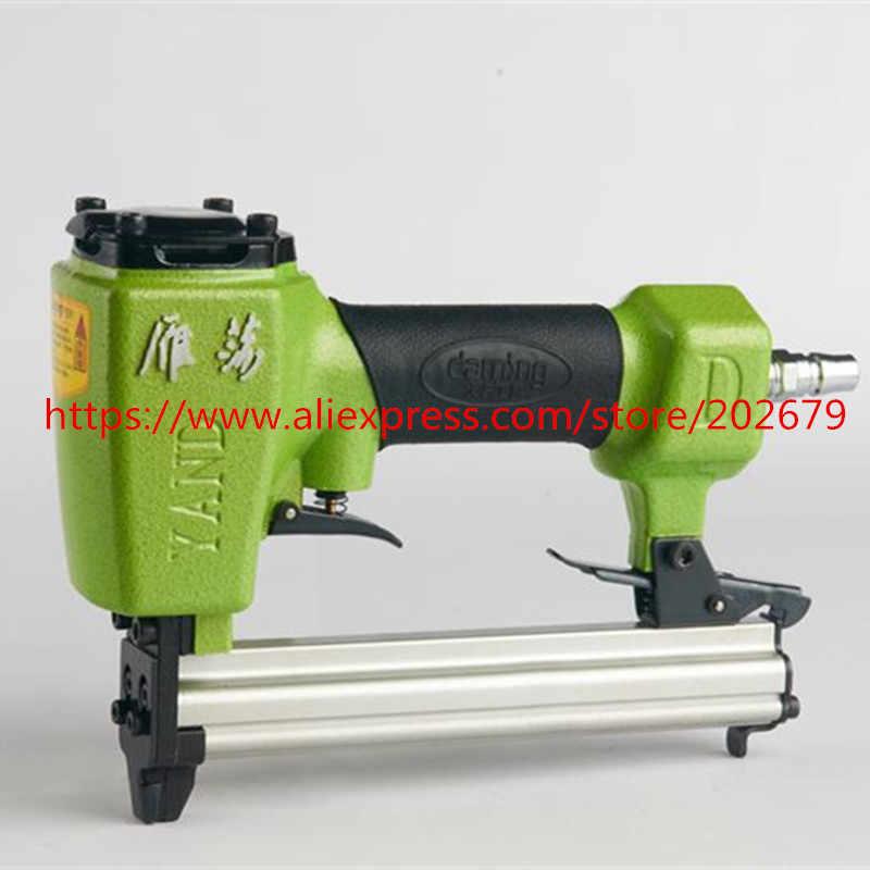 Gratis Verzending air nailer gun air code nail gun 422J code nail pistool pneumatisch gereedschap air tools nail gun Air nietmachine Gereedschap
