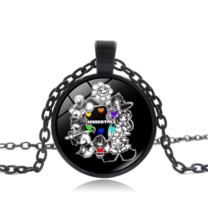 Game Undertale Pendant Cosplay Prop Jewelry Necklace Accessories