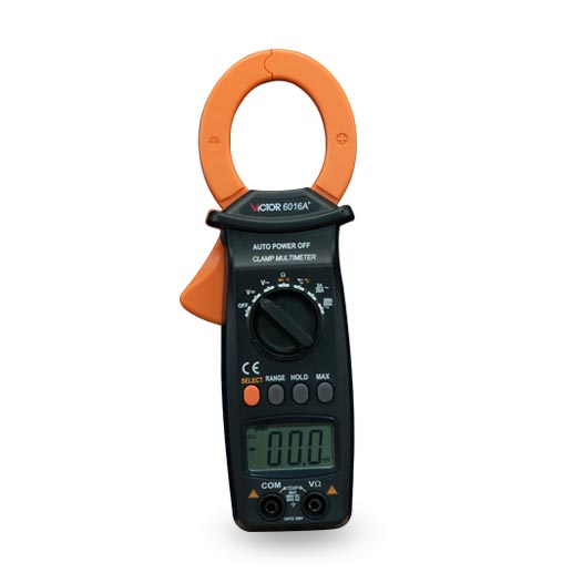 Digital Multimeter/Victor/VC 6016A+3/4 Auto Range Temperature Test Streamline Design & Large LCD Display victor lcd 3 1 2 digital multimeter vc9804a