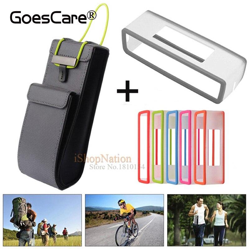 Цена за 2 в 1 нейлон Путешествия Carry сумка + ТПУ Мягкий силиконовый чехол Обложка для Bose SoundLink Mini/Mini 2 Bluetooth Динамик