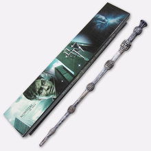Free shipping Best sell Wholesale magic wand Harry Potter wand 35cm Dumbledore scripture Edition Non-luminous wand(China (Mainland))